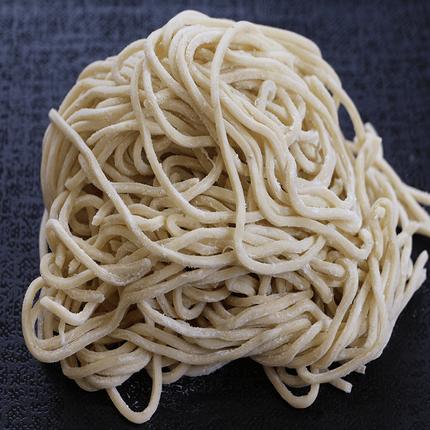 国産小麦粉100%使用つけ麺