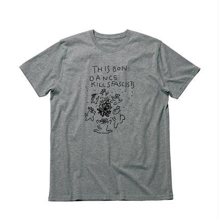 THIS BON-DANCE Tシャツ/杢グレー
