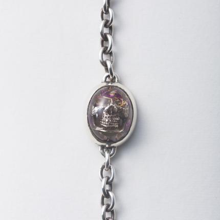 Flower Skull Bracelet (小)