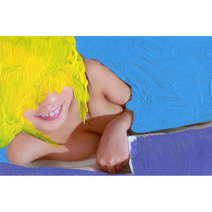 【059】YELLOW HEAD IN PURPLE WATER
