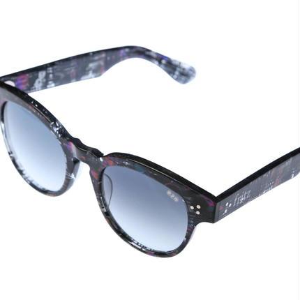 ug.xredi'FLITZ'model col.4 purple 柄frame /grey gradation lens