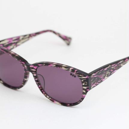 'mango' model clear purple 柄2frame/purple  lens