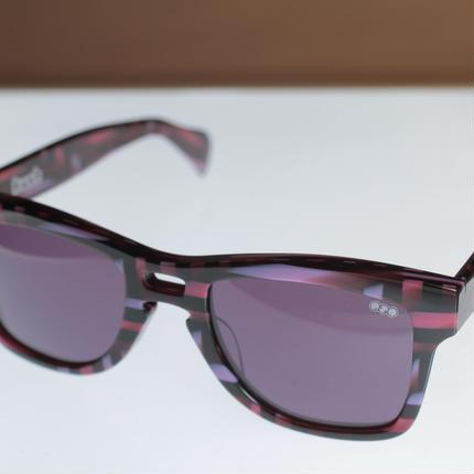 kush 80's pattern series /pink/d.purple