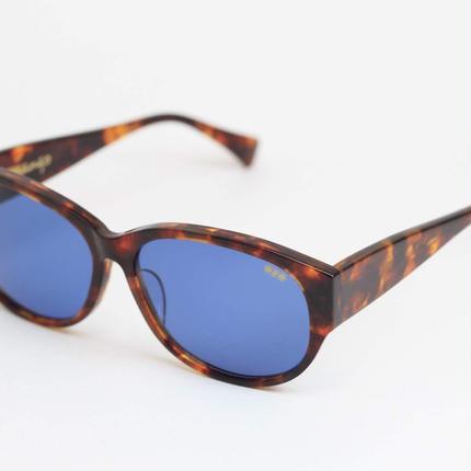 'mango' model clearbrown柄 2frame/blue lens