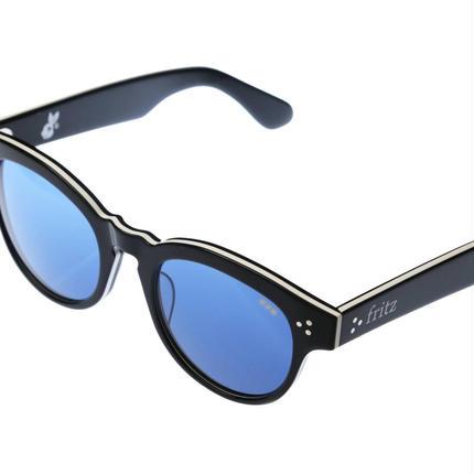 ug.xredi'FLITZ'model col.3black.white frame/blue lens