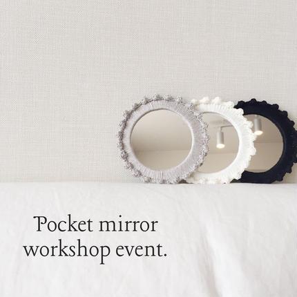 Pocket mirror workshop event.KIT