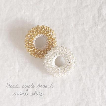 beads brooch WS KIT