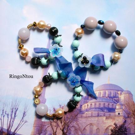 KIDS Bracelet <Blu> (Medium)