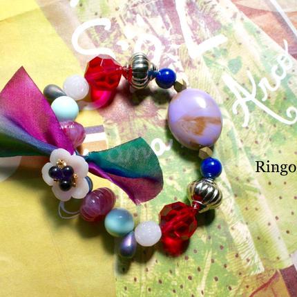 KIDS Bracelet <Rosso> (Large) for Mom