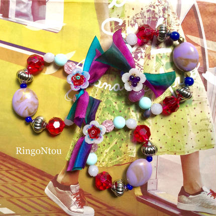KIDS Bracelet <Rosso> (Medium)