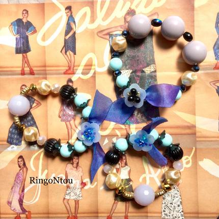 KIDS Bracelet <Blu> (Large) for Mom