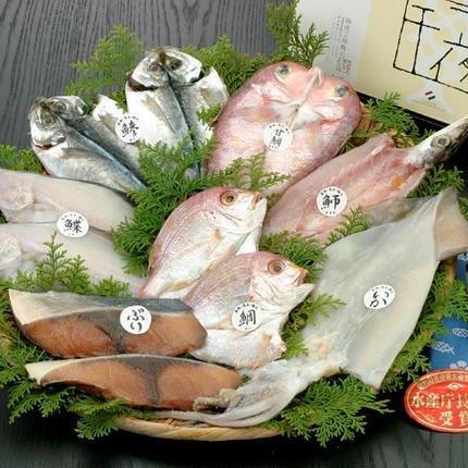 D19 長崎特選セット お魚一夜干し