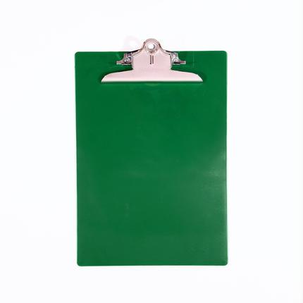 プラスチック(A4サイズ クリップボード) - グリーン