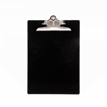 プラスチック(A4サイズ クリップボード) - ブラック