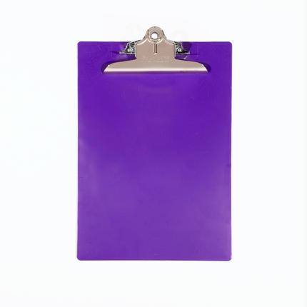プラスチック(A4サイズ クリップボード) - パープル