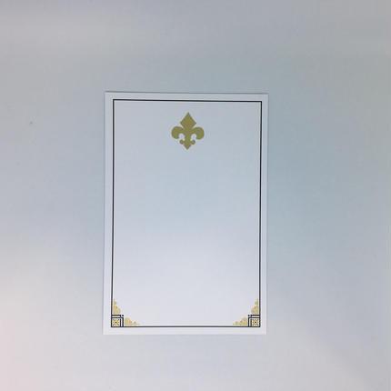 インビテーションカード(封筒付き)SAINT