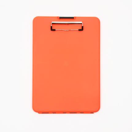 スリムメイト(A4サイズ クリップボード) -  オレンジ