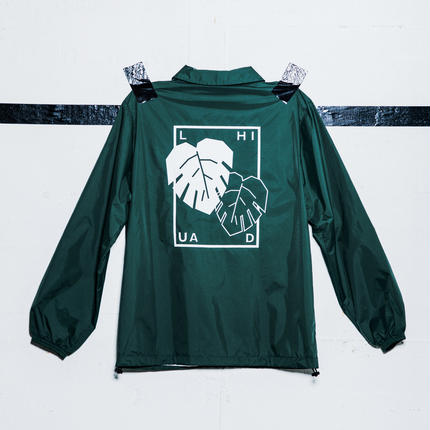 Coach jacket (Monstera)
