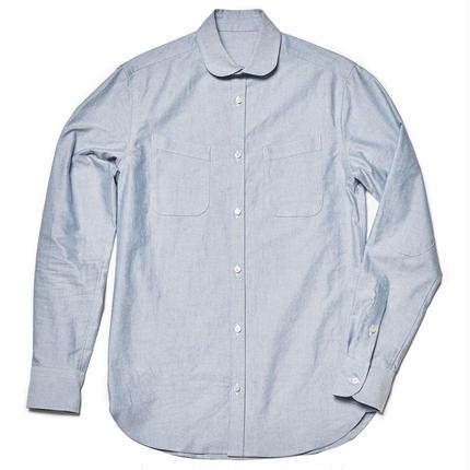 W-pocket shirts (White)