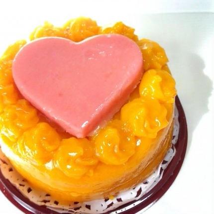 小麦粉アレルギー対応2段ケーキ(かぼちゃ&チーズ)