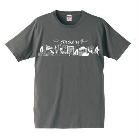 CIRCLE'16 オフィシャル T-Shirts (セメント)