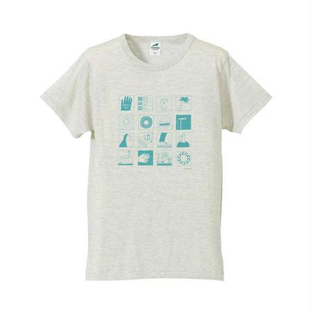 CIRCLE'15 オフィシャル T-Shirts (オートミール)