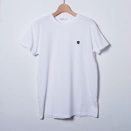 クルーネックTシャツ/ホワイト(PW-01-CN-WH)