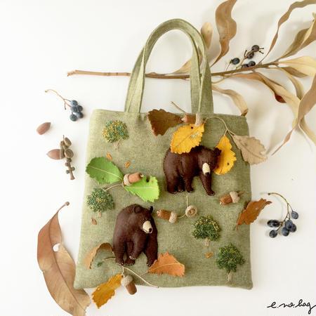 kuma no bag ( クマ ノ バッグ )