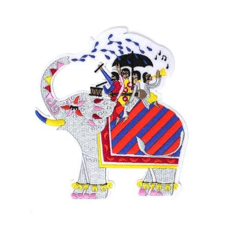 """ELEPHANFARE"" BIG BADGE  ワッペン"