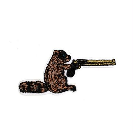 """""""RACOON"""" PATCH ワッペン"""