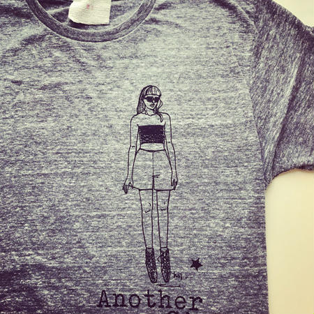 Another Girl T-shirts・オーセンティックグレー(L)