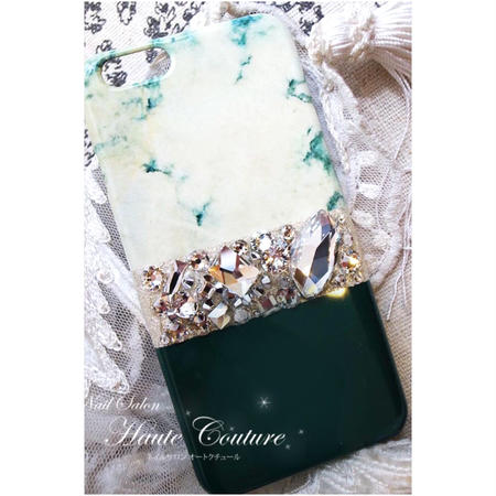 ●Green Marble×Ade green<iphone7/6s/6>