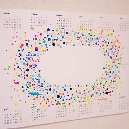 HUTCHカレンダー 2016