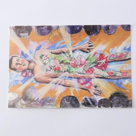 ポストカード「男体盛り」