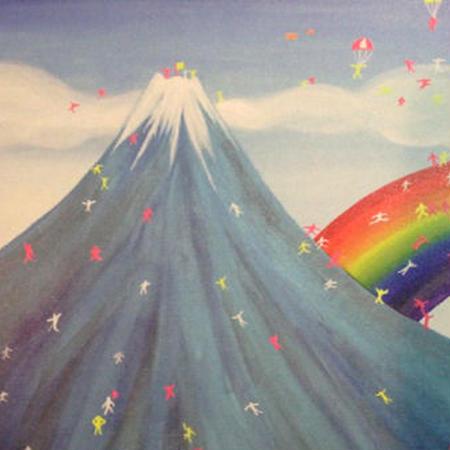 Postcard  Fuji