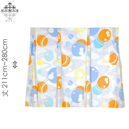 """【MoRi MoRi CURTAIN】 オーダーカーテン:"""" 水玉 """" 巾 96cm~190cm・丈211cm~280cm(遮光裏地付)"""