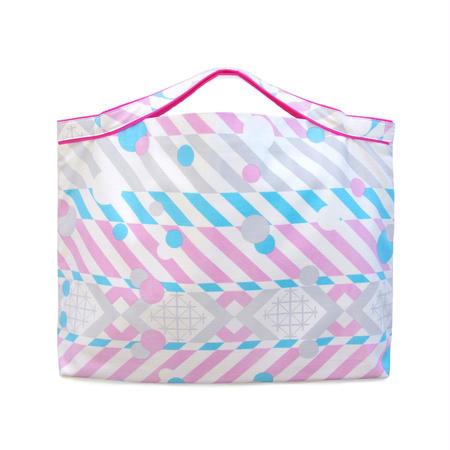 【MoRi MoRi BAG】 3wayバッグ:5柄(蛍光ピンクテープ)