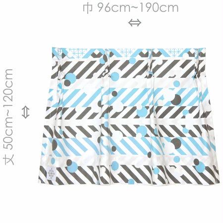 """【MoRi MoRi CURTAIN】 オーダーカーテン:"""" 羽根と雫 """" 巾 96cm~190cm ・ 丈 50cm~120cm"""