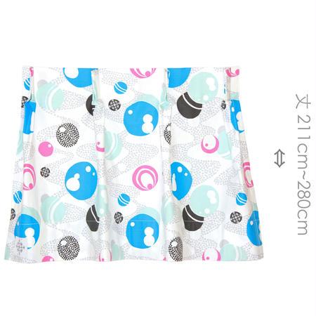 """【MoRi MoRi CURTAIN】 オーダーカーテン:"""" 水玉 """" 巾 191cm~285cm・丈211cm~280cm"""