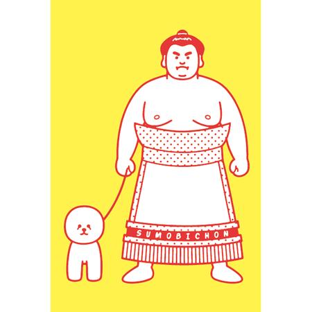 SUMOBICHON : 化粧回しポストカード (10枚セット)