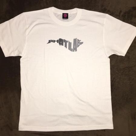 phatlab biwako ロゴ Tシャツ WHT L