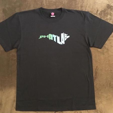 phatlab biwako ロゴ Tシャツ BLK L