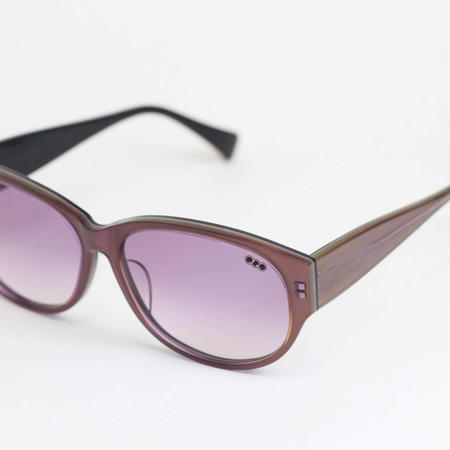 'mango' model purple frame/gradation lens