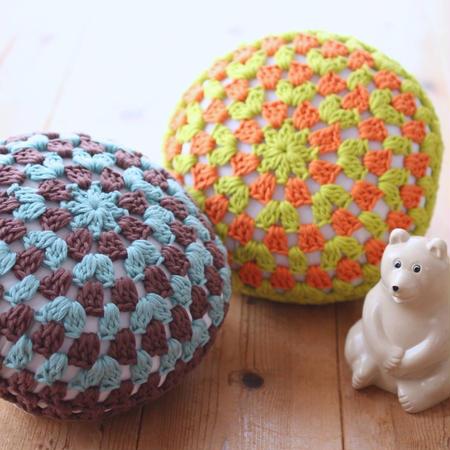 【受付中】ワークショップ@金沢(4/16AM)「グラニーサークル編みのクッション」お申し込み
