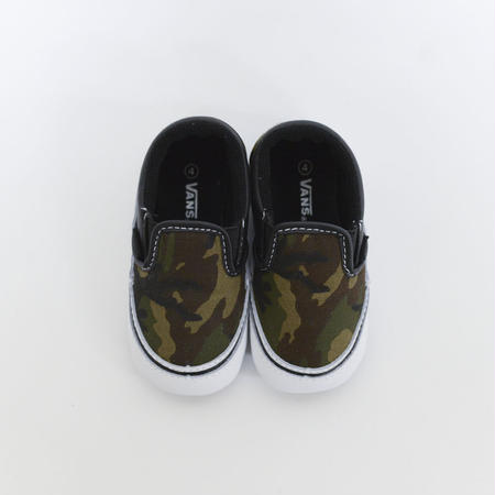 VANS Classic Slip-On Army Green/TrueWhite