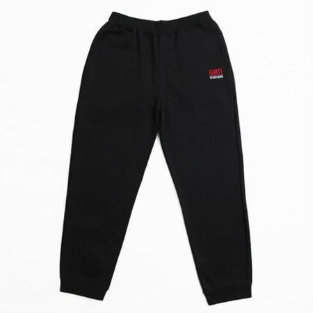 SHOTS T.S.N.M SWEAT PANTS (BLACK/RED)