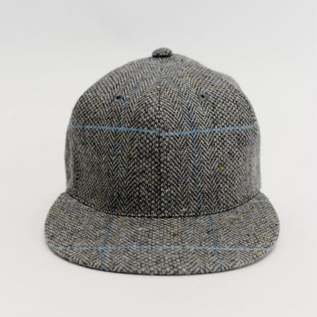 APOGEE Tweed Cap GRAY×BLUE