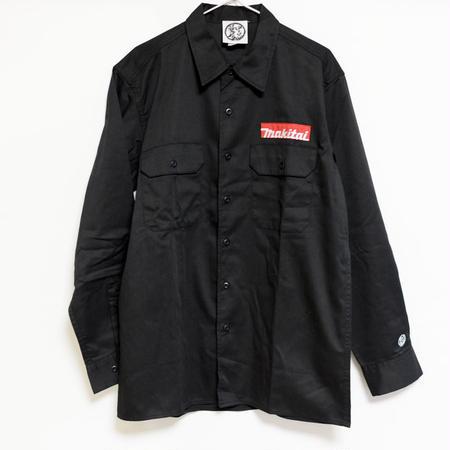 中目黒薬局 MAKITAI ワークシャツ