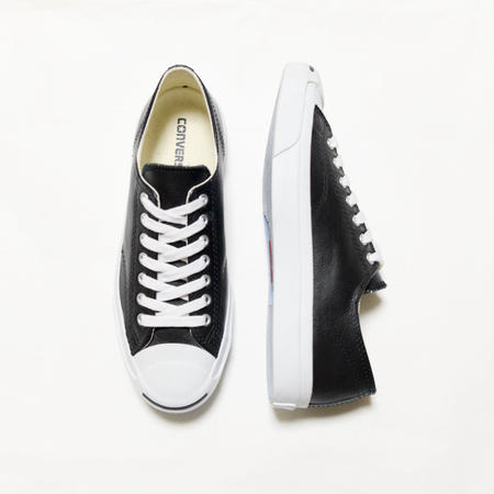 CONVERSE Jack Purcell Leather OX BLACK WHITE コンバース ジャックパーセル