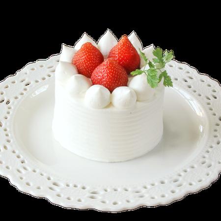 苺ショートケーキ 10 ㎝ (2〜3人用)